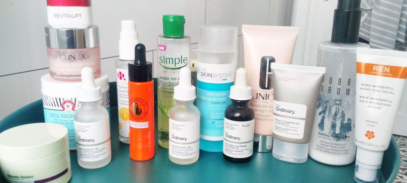 A few of my favourite skincare products