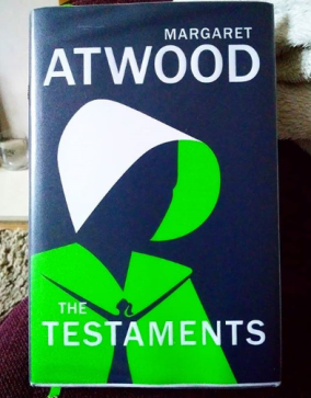 The Testaments by Margaret Atwood.