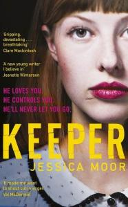 Keeper by Jessica Moor.
