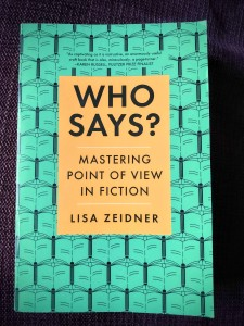 Who Says? by Lisa Zeidner.